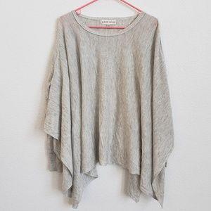Knox Rose Poncho Sweater L/XL